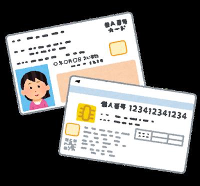 個人番号カード(マイナンバーカード)